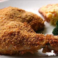 Oven Fried Chicken With Corn Flakes