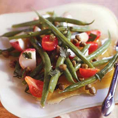 Potato, Green Bean, and Cherry Tomato Salad