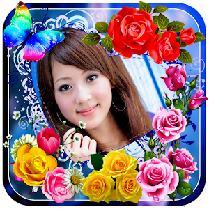 rose flower photo frames   android apps on google play