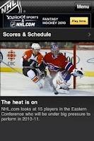 Screenshot of Hockey World News