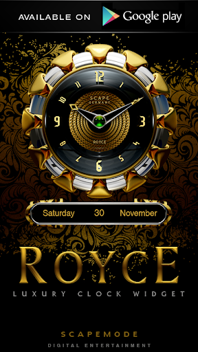Poweramp Widget ROYCE - screenshot