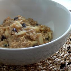 Apple, Banana and Sultana Porridge
