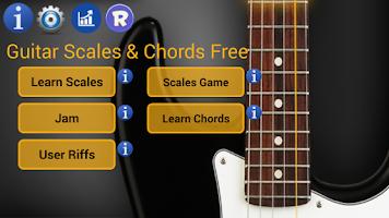 Screenshot of Guitar Scales & Chords Free