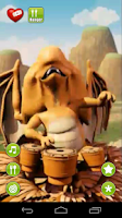 Screenshot of Talking Baby Dragon