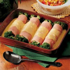 Ham and Broccoli Roll-ups