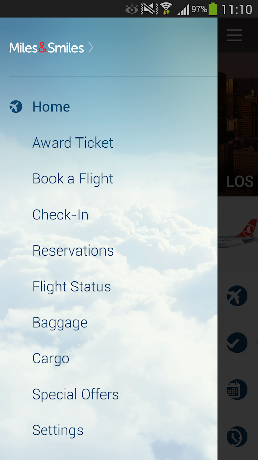 Turkish Airlines Screenshot 1