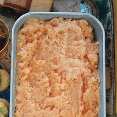 Cantaloupe and Cream Sherry Granita