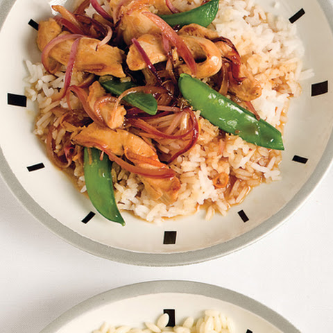 Spicy Orange Chicken Stir-Fry
