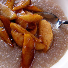 Hot Buckwheat Cereal with Cinnamon Apples