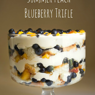 Peach Blueberry Trifle Recipes