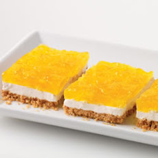Creamy Marshmallow and Pineapple Squares