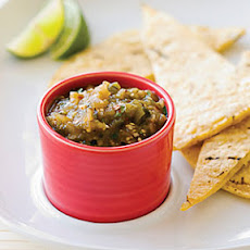 Roasted Green Chile Chipotle Salsa