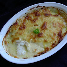 New England Baked Cod in Cheese Sauce