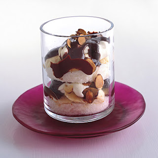 Chocolate, Almond, and Banana Parfaits