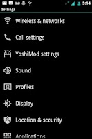 Screenshot of ICS Mint CM7 Theme