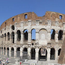 The Colosseum by Helen Roberts - City,  Street & Park  Historic Districts (  )