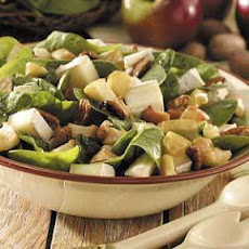 Apple-Brie Spinach Salad