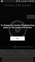 Screenshot of Online FM Radio