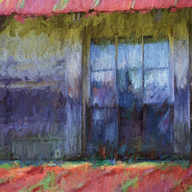 The Window by Allen Crenshaw - Painting All Painting ( home, window, art, painting, deserted, north carolina )
