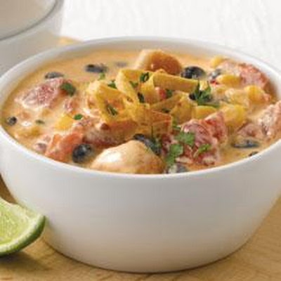 Santa Fe Chicken Enchilada Soup
