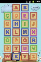 Screenshot of Learn Alphabet and Numbers