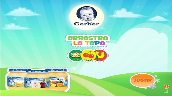 GERBER ®: Arrastra la Tapa - screenshot