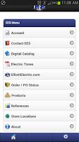 Screenshot of Elliott Electric