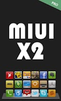 Screenshot of MIUI X2 Go/Apex/ADW Theme PRO