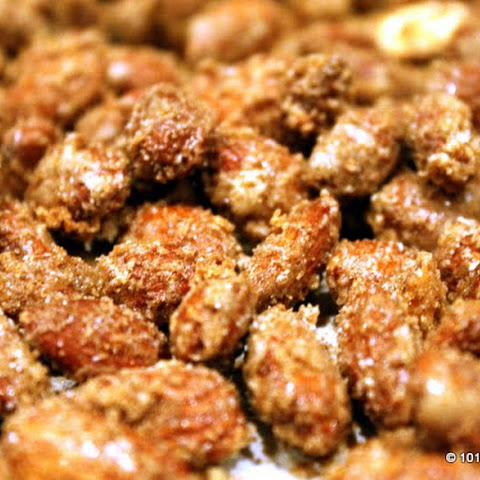 Easy Homemade Cinnamon Candied Nuts