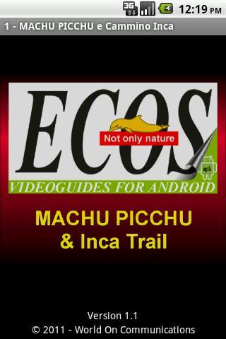MACHU PICCHU Cammino Inca 1