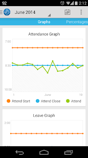 Attendance Keeper - screenshot