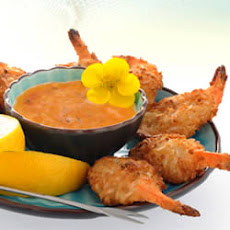 Baked Coconut Shrimp with Spicy Dipping Sauce