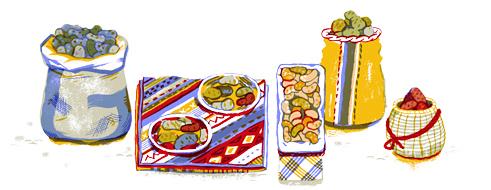 Google Doodle Potato Day 2013