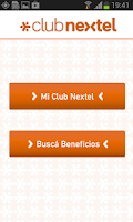 Screenshot of Club Nextel