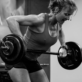 weight lifting by Vibeke Friis - Sports & Fitness Fitness ( weight lifting, excersice, pump class )