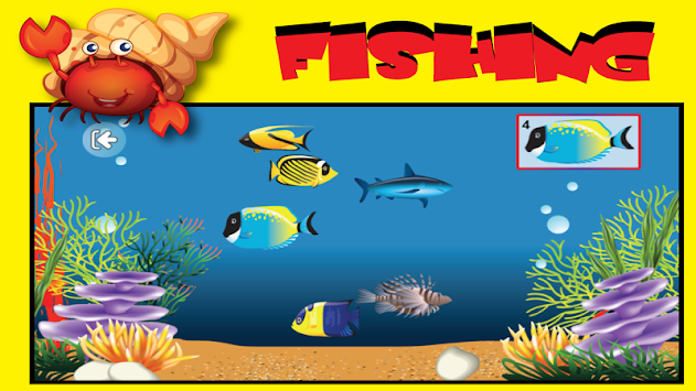 Tap fish game for kids free apk 1 4 free educational for Tap tap fish game