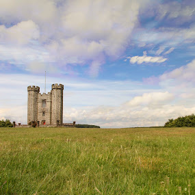 Arundel Park Folly  by Darren Curtis - Landscapes Cloud Formations ( copyright-2014 all rights reserved, landscapes of sussex, info@darrencurtisphotography.co.uk, 2014-06 arundel park folly, landscapes, fine art photography., sussex landscapes )