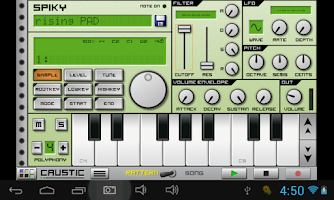 Screenshot of Real Instruments & Ambient V1