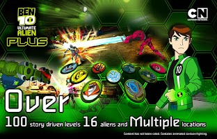 Screenshot of Ben 10 Xenodrome Plus