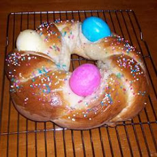 Easter Bird's Nest Bread