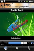 Screenshot of Radio Bani Boston