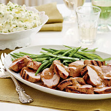 Bourbon-Brown Sugar Pork Tenderloin