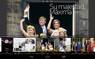 Screenshot of Revista Para Ti Argentina