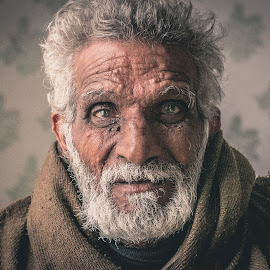 wise by Muhammad Irfan Farooq - People Portraits of Men ( white haired, face, potrait, pakistani, man )