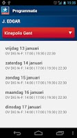 Screenshot of Kinepolis Cinemas