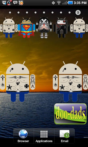 Droid Tattoo doo-dad