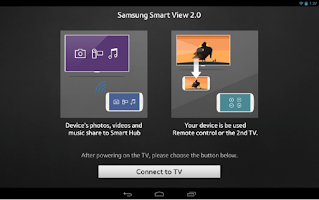 Screenshot of Samsung Smart View 2.0