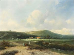 RIJKS: Johannes Franciscus Hoppenbrouwers: painting 1855