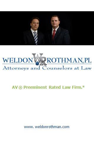 FL car accident Weldon Rothman