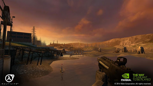 Half-Life 2 for NVIDIA SHIELD - screenshot